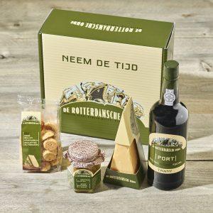 Kado pakket Blaak van De Rotterdamsche Oude met schuitje naar keuze