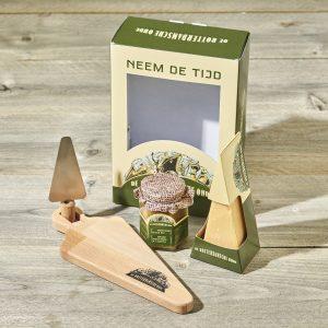 Pakket Brienenoordburg maakt de kaasliefhebber blij, ideale basis voor een kaasplankje